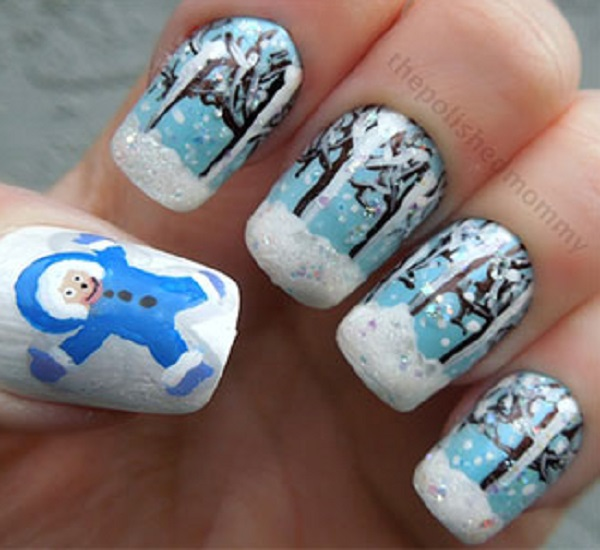 Winter Nail Art  18