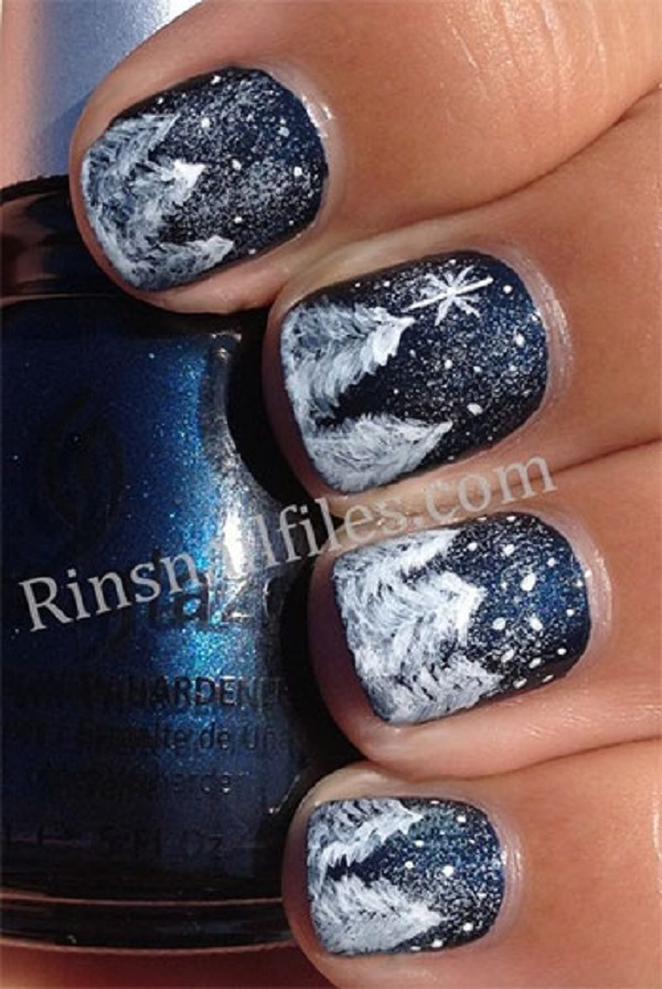 Winter Nail Art  19