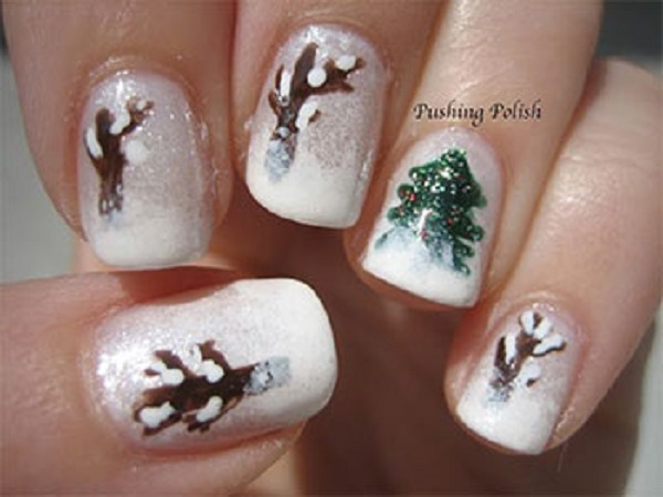 Winter Nail Art  21