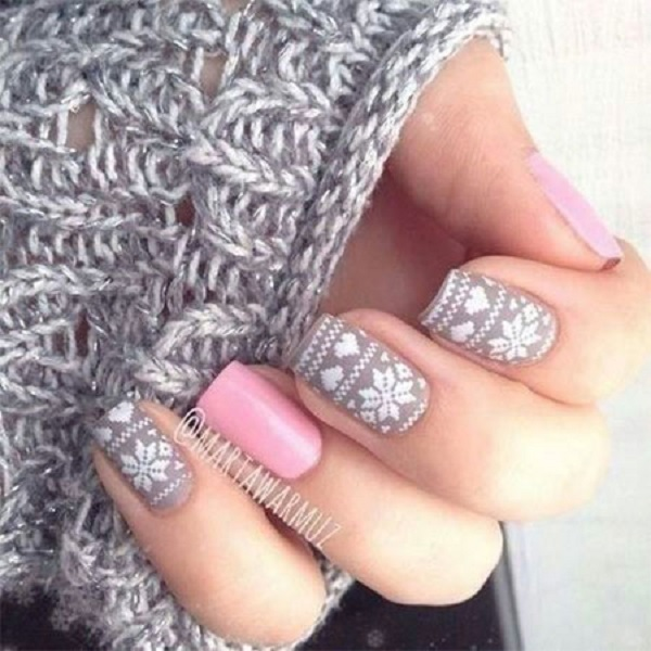 35 Pretty Winter Nail Designs Nenuno Creative