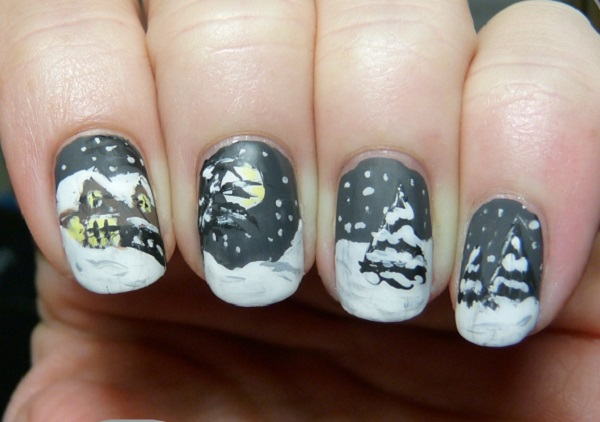 Winter Nail Art  24
