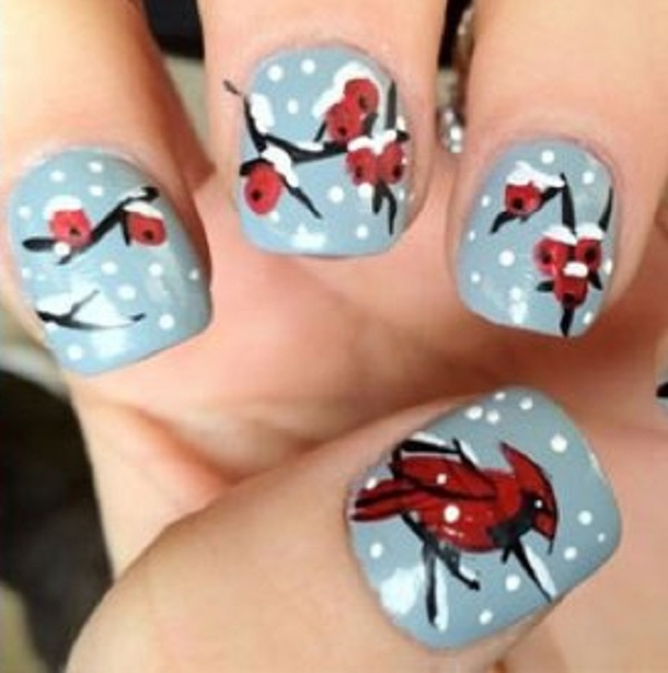 Winter Nail Art  25