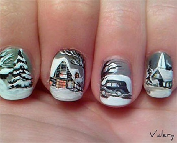Winter Nail Art  30