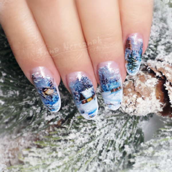 Winter Nail Art  33