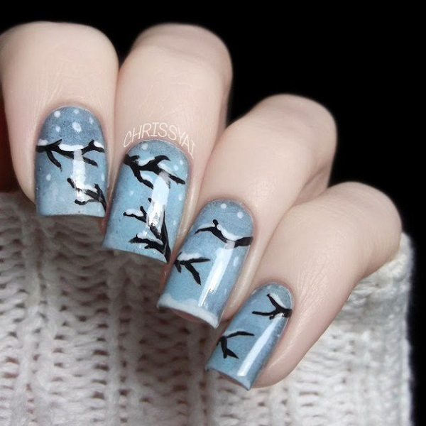 Winter Nail Art  35