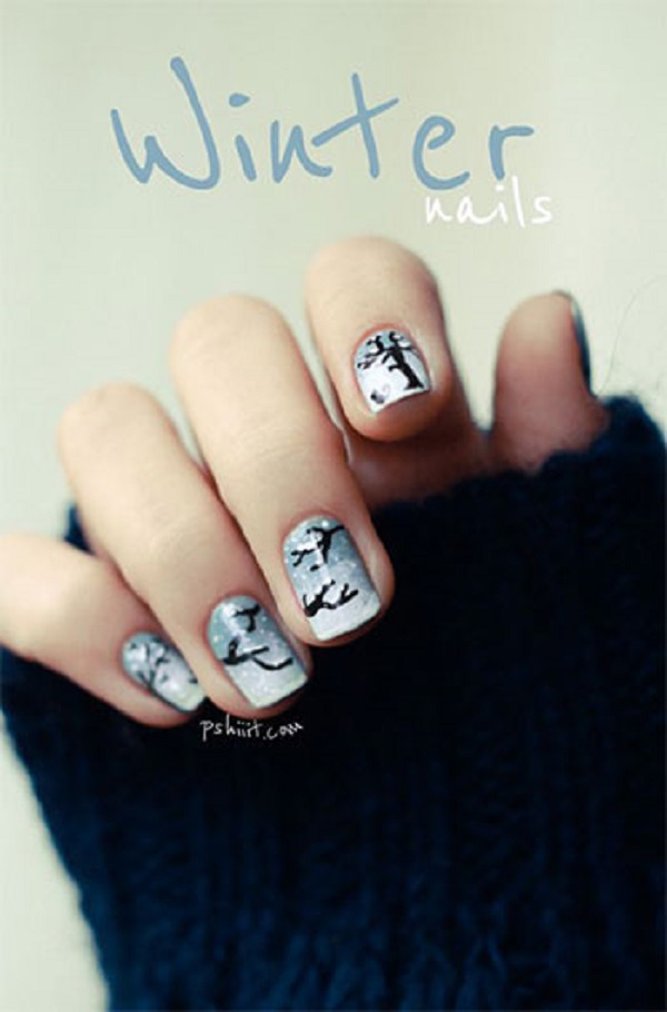 Winter Nail Art  5
