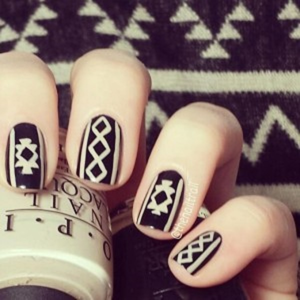 Winter Nail Art  9