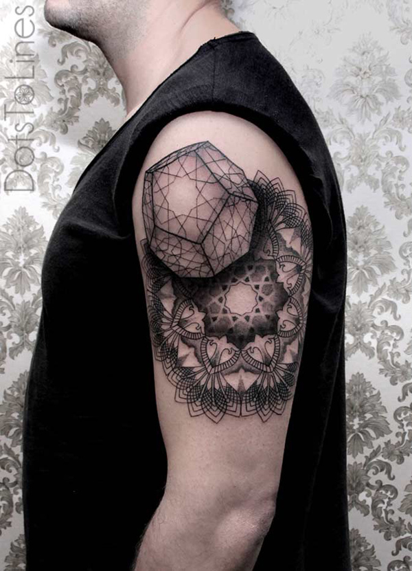 mandala quarter tattoo-10