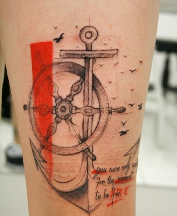 Anchor Tattoo 12