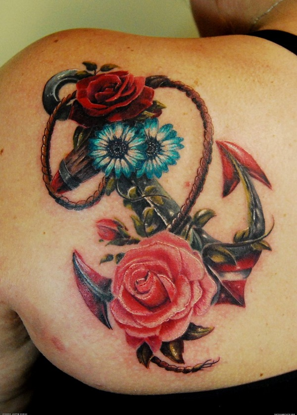 Anchor Tattoo 15