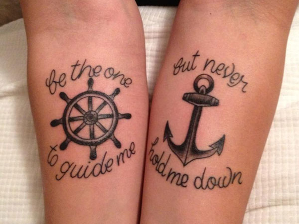 Anchor Tattoo 2