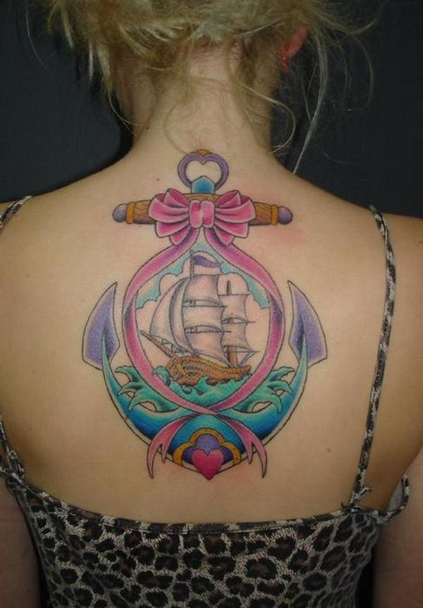 Anchor Tattoo 44