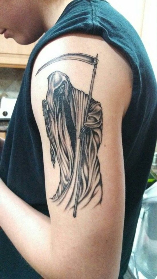 Grim Reaper Tattoo 1