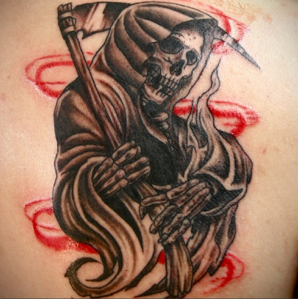 Grim Reaper Tattoo 11