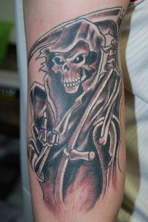 Grim Reaper Tattoo 12