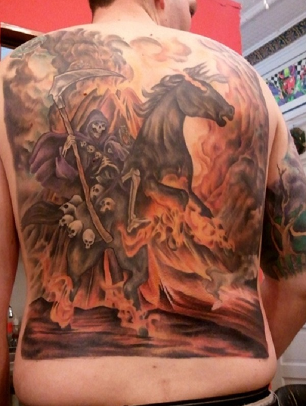 Grim Reaper Tattoo 13