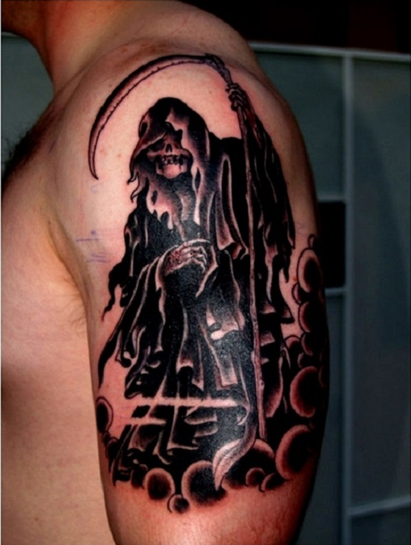Grim Reaper Tattoo 15