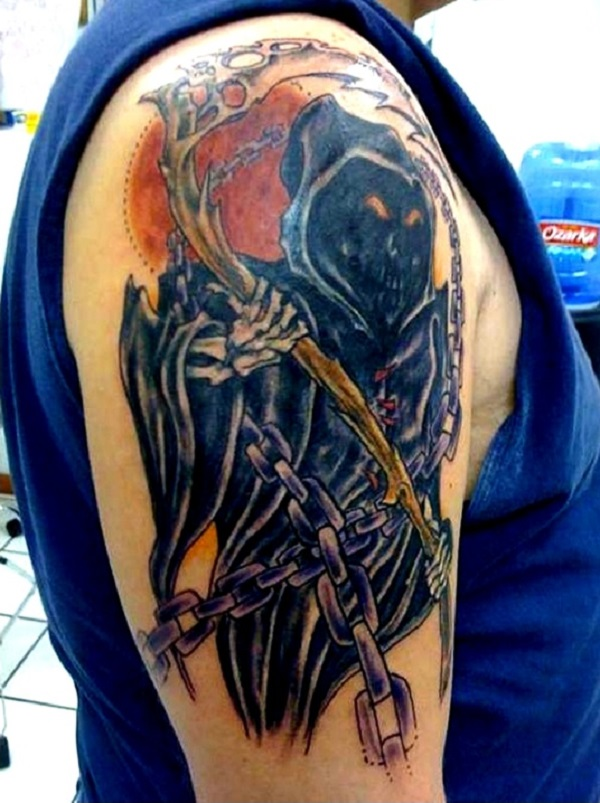 Grim Reaper Tattoo 17