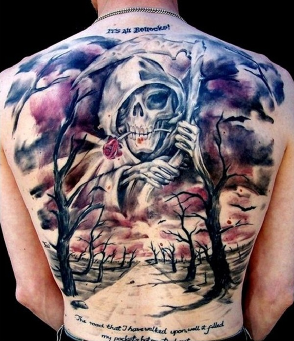 Grim Reaper Tattoo 23