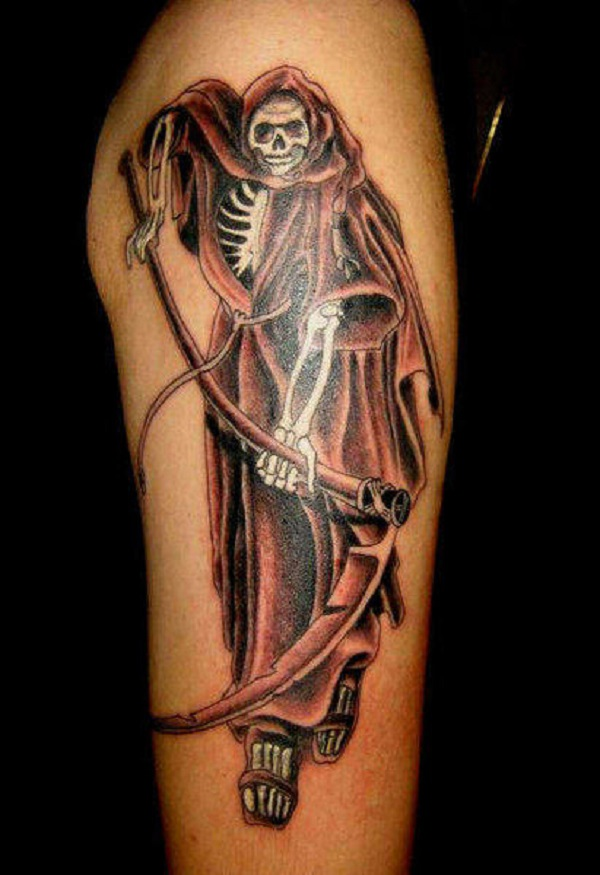 Grim Reaper Tattoo 25
