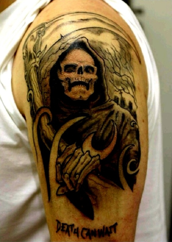 Grim Reaper Tattoo 32
