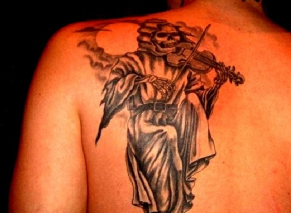 Grim Reaper Tattoo 33