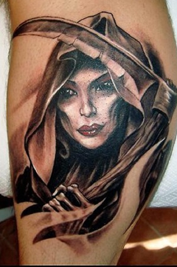 Grim Reaper Tattoo 36
