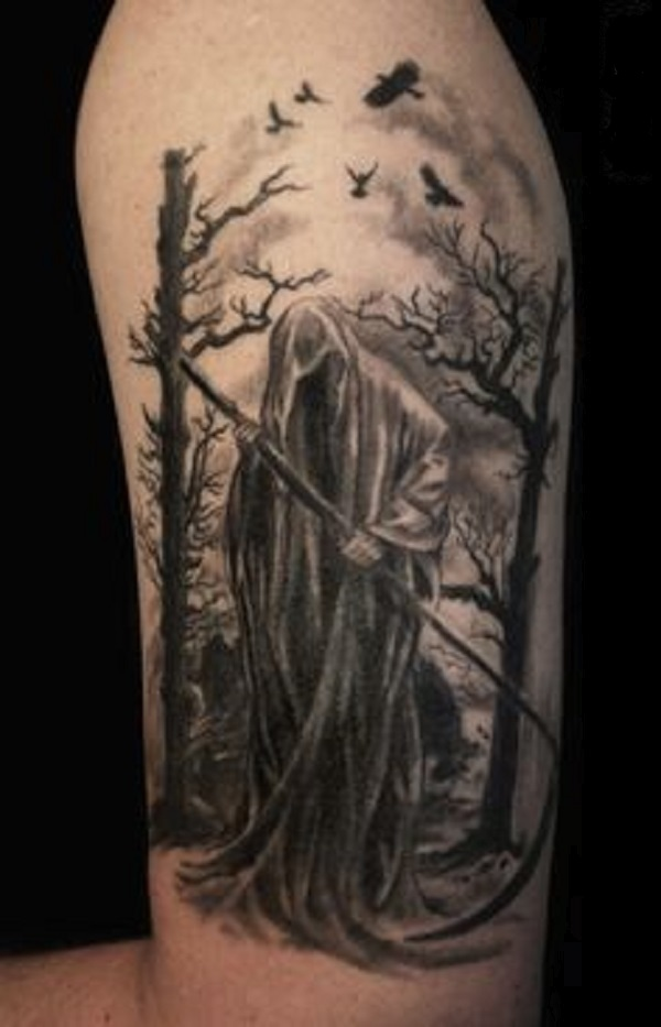 Grim Reaper Tattoo 39