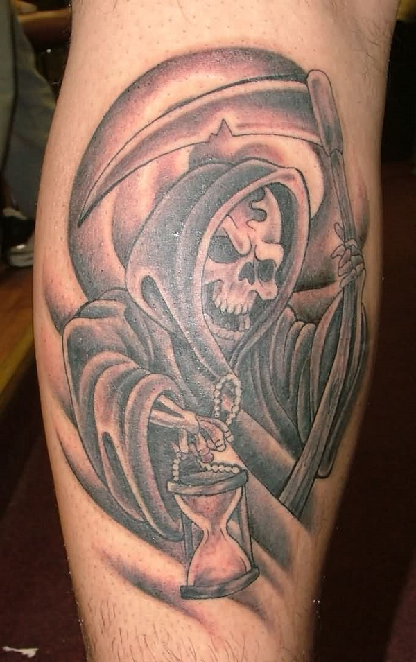 Grim Reaper Tattoo 42