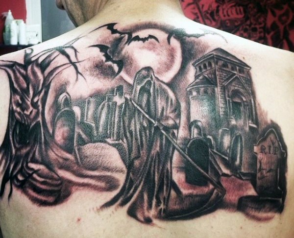 Grim Reaper Tattoo 43