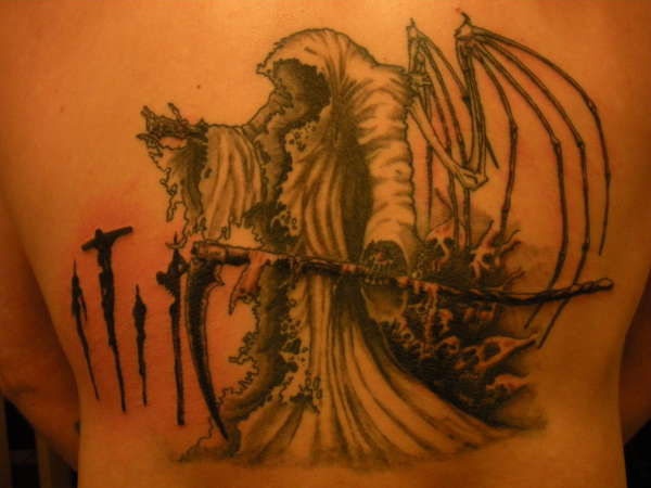 Grim Reaper Tattoo 46