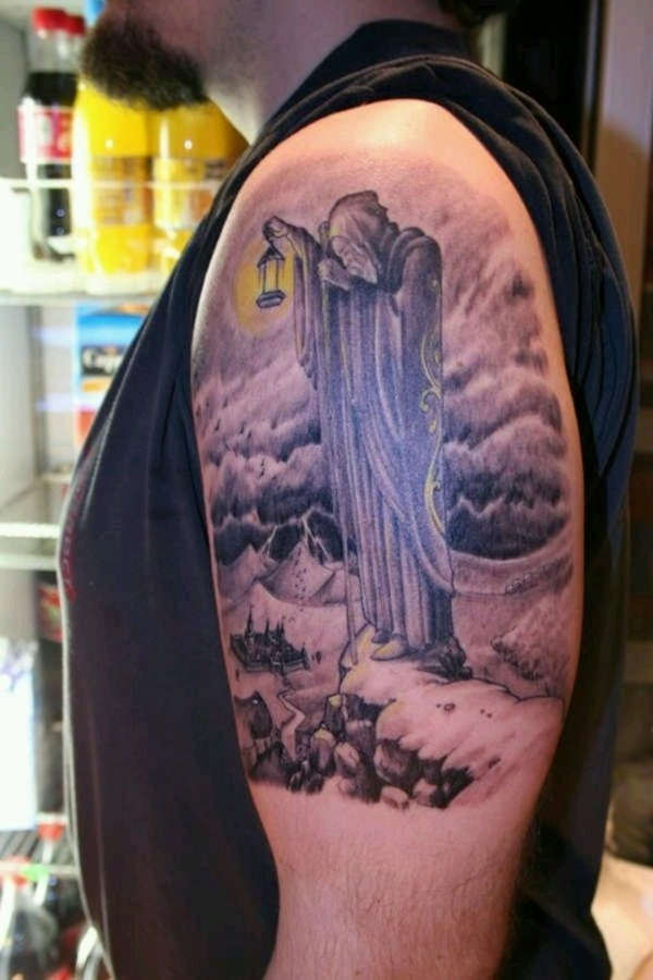 Grim Reaper Tattoo 6