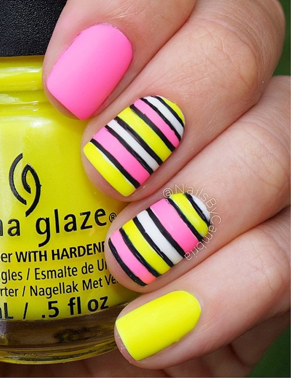 50 Lovely Spring Nail Art Ideas - nenuno creative