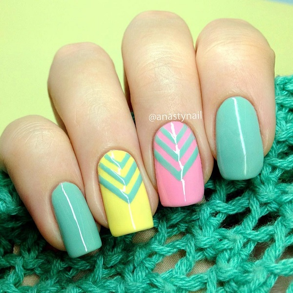 50 Lovely Spring Nail Art Ideas Nenuno Creative