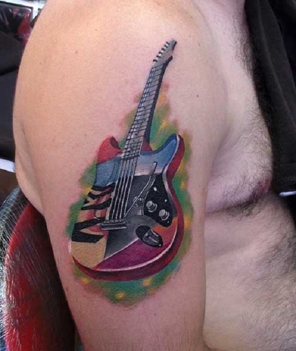 GUITAR TATTOO  1