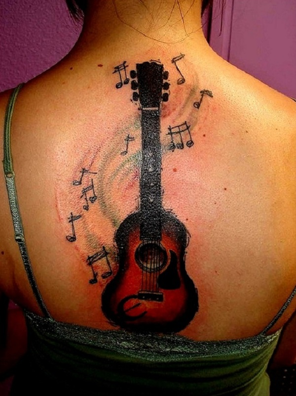 GUITAR TATTOO 12