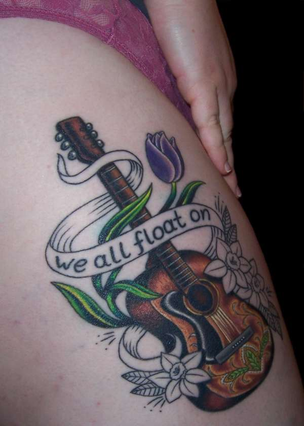 GUITAR TATTOO 15