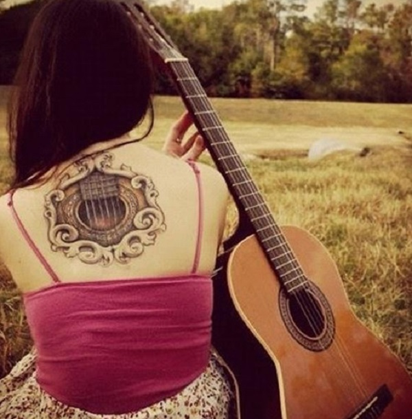 GUITAR TATTOO 24