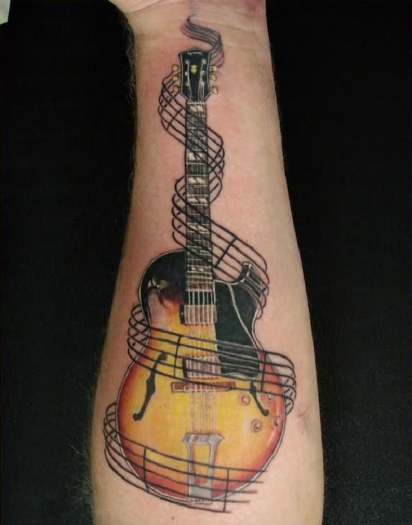 GUITAR TATTOO 56