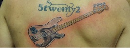 60 Inspirational Guitar Tattoos
