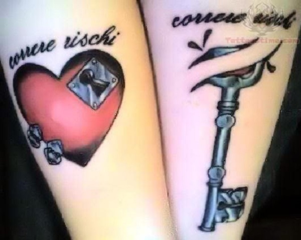 Lock And Keys Tattoo 1