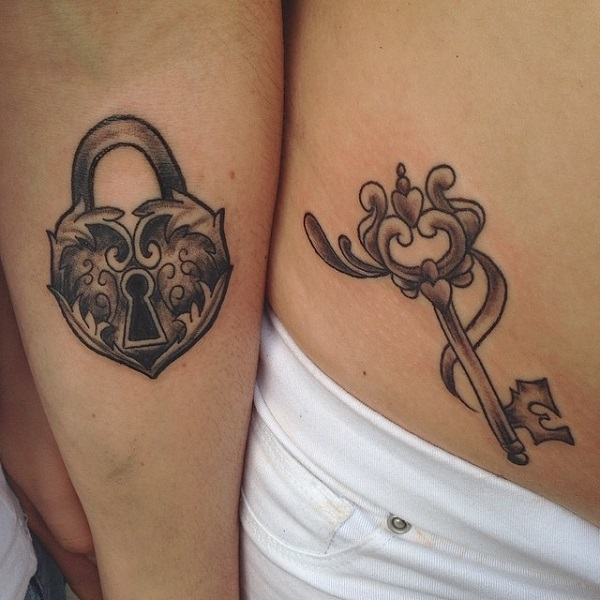 35 meaningful lock and keys tattoos nenuno creative