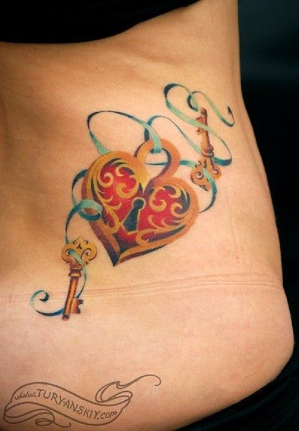 Lock And Keys Tattoo 18