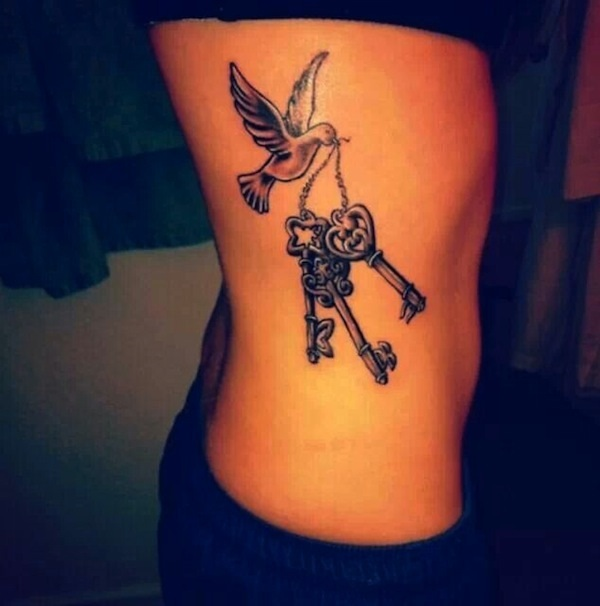 Lock And Keys Tattoo 24