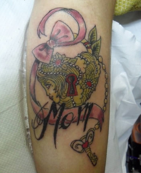 Lock And Keys Tattoo 34