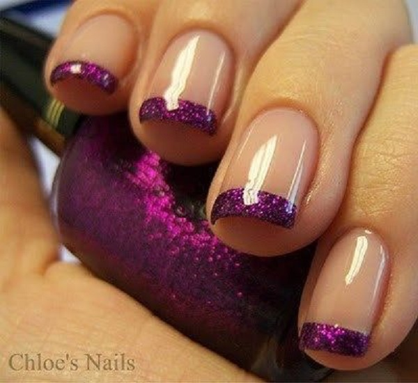 Purple Nail Art-13