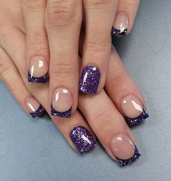 Purple Nail Art-14