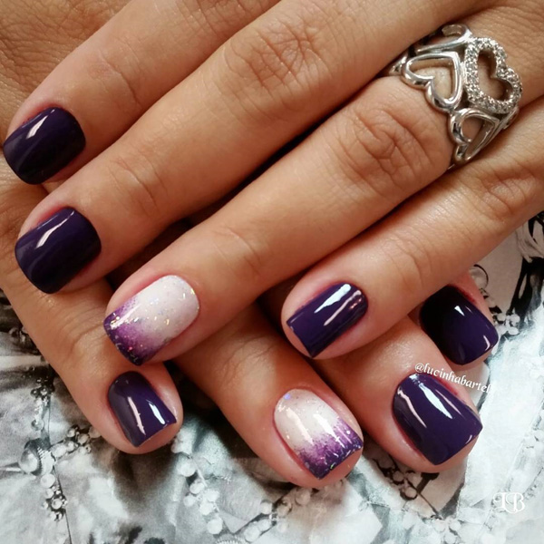 Purple Nail Art-19