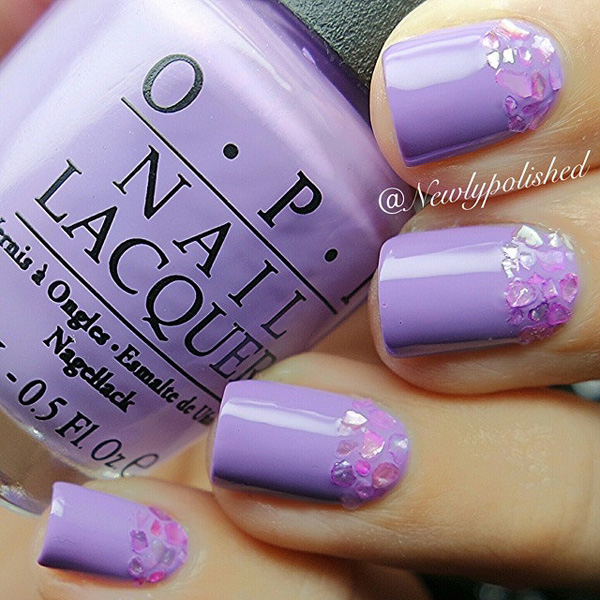 Purple Nail Art-35