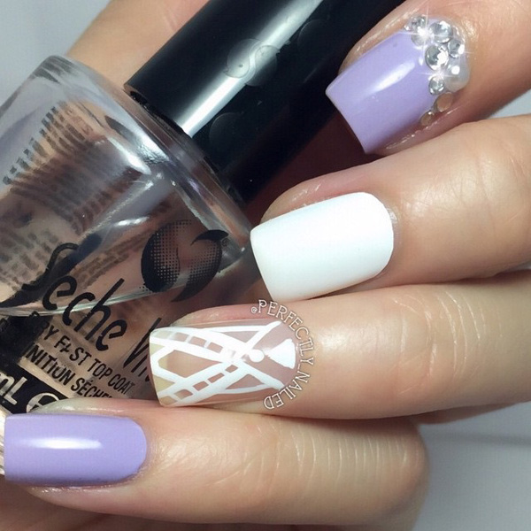 Purple Nail Art-37